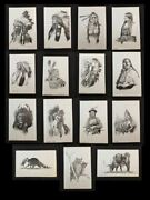 Vintage Bob Dale Print Native American Indian - Choice - Combined Shipping 1972