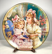 Le Bradford Exchange Sisters Precious Gifts Day By Day Child Plates Lot 4
