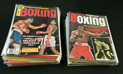 32 Boxing Magazines Huge Lot Muhammad Ali / Cassius Clay Covers 60and039s And 70and039s