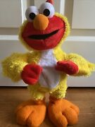 Sesame Street Chicken Dance Elmo By Fisher Price 2001 Sings And Flaps His Wings