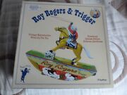 Schylling Vintage Collectible Roy Rogers And Trigger Tin Toy Mib With Certificate
