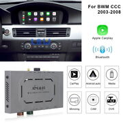 Wireless Apple Carplay Android Auto Gps Navi For Bmw Ccc System 2003-08 8.8 Inch