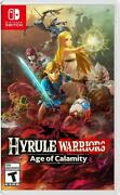 Hyrule Warriors Age Of Calamity - Nintendo Switch U.s.a Official Edition