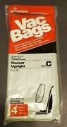 New 4 Pack Hoover Upright 18 Type C Vacuum Bags - Canada Ship
