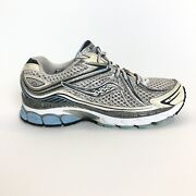 Womenand039s Saucony Hurricane Blue White Mesh Athletic Running Shoes Sz 8
