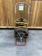 Used General 1/2x 50and039 Electric Auto Feed Snake Ej7f398 Floor Drain/drain Tile