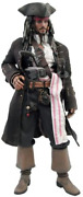 Movie Masterpiece 1/6 Figure Pirates Of The Caribbean Worldand039s End Jack Sparrow