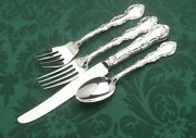 Strasbourg By Gorham Sterling Silver 4 Pc Place Setting, Luncheon French Knife