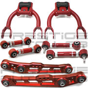 Truhart 8pc Front Rear Camber Toe Lower Control Arms For Civic Integra Del Sol
