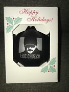 Eric Church Christmas Ornament 2020 Sold Out Limited Edition Free Priority Mail
