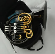 Black Nickel 24k Gold Usa Weibster Double French Horn Detached Bell 103 Model