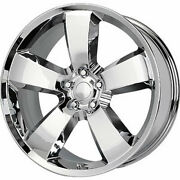 4 - 22x9 Chrome Wheel Replicas V1150 Wheel 5x115 +18 Offset V1150-2299018c