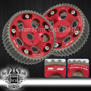 For 93-02 Toyota Supra Mark Iv 2jz-gte Jdm Vip Replacement Cam Gear Sprocket Red