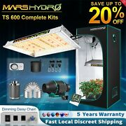 Mars Hydro Ts 600w Led Grow Light+2and039x2and039 Indoor Tent Carbon Filter Complete Kits