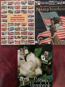 1973 - 2004 Us Commemorative Mint Set Stamp Collection Yearbooks Without The Sta