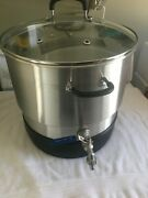 Stainless Steel Wax Melter Lid/pot/base