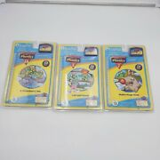 Leap Frog Leap Pad Lot Of 3 Books And Cartridges Phonics Activity Book New Sealed