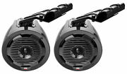 2 Mtx Wet65t 6.5 300w Marine Tower Roll Cage Speakers For Profit Cage Rollbar