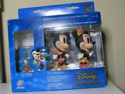 Holiday Disney Treasures Collectible Cards Mickey Minnie Christmas Figurine Deck