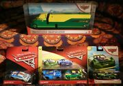 Disney Pixar Cars Synerg And Lil' Torquey Pistons Lot 2 Pack, 2 Singles And Hauler