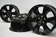 21andrdquo Range Rover Full Size And Sport Factory Oem Rims Wheels 21 Black Epla1007aa