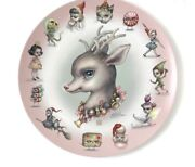 Mab Graves Just One Bite Deerie Christmas Special Plate Sold Out