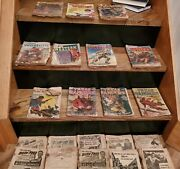 Pulp Vintage Western 21 Book Set/ Texas Ranger And Mammoth Books