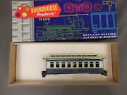 Ho Scale Roundhouse Bando 34and039 Overton Coach Kit