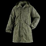 U.s Military Night Desert Camouflage Fishtail Parka With Liner New Small