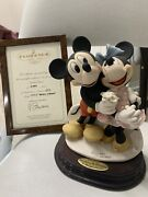 Armani Mickey And Minnie Mouse Figurine 1777 - Limited Edition 75th Anniversary