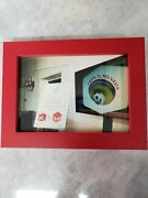 Jack In The Box Antenna Ball Sombrero Jack 5x7 Framed Picture.
