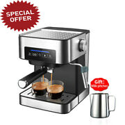 Espresso Coffe Machine Semi Automatic Frothing Milk With Free Gift