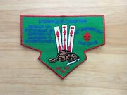 Boy Scouts Order Of The Arrow Ktemaque Chapter Flap Patch - 60th Anniversary