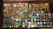 World Cup 1974 Pin Badge And Medal Set