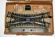 1950's Marklin Ho Trains, German Made, Double Slip Switch No. 3600 For 00 Gauge