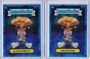2 - 2020 Topps Garbage Pail Kids Sapphire Chrome Adam Bomb And Blasted Billy Lot