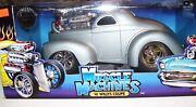 Muscle Machines 1941 41 Willys Coupe Gasser Limited Edition -- 1/64 Diecast --