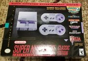 Brand New Authentic Super Nintendo Classic Mini Edition Snes System Ships Today