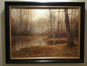 Kees Terlouw 1890-1948 Famed Dutch Artist. Original Oil On Canvas And Signed