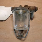 Oem Jaguar Xke E-type Ac Delco Type Fuel And Water Trap Glass Bowl Filter Vintage