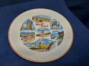 Vintage Collector's Plate By Homer Laughlin Of Myrtle Beach South Carolina