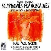 Various Artists Corsica-fransiscan Polyphony- Cd Free Shipping Save Andpounds
