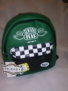 Friends Central Perk Coffee Mini Backpack Purse Green Backpack Brand New Rare
