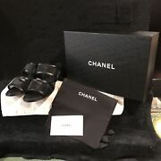Sold Out Mesh And Lamb Skin Mules/sandals Brand New