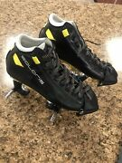 Riedell Solaris Boots With Pilot Falcon Plus Plates Roller Blade Boots