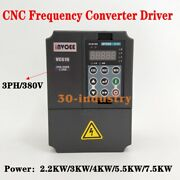 Vc610 3ph/380v Cnc Frequency Converter Driver 2.2kw/3kw/4kw/5.5kw/7.5kw