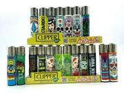 8 Brand New Full Size Refillable Original Clipper Lighters Kitchen Bbq Outdoor