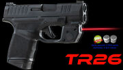 Armalaser Red Tr26 Laser Sight For Springfield Hellcat W/ Grip Touch Activation