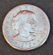 1979-d Susan B. Anthony One 1 Dollar Coin U.s. Mint United States Liberty