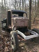 1947 Ford 1 1/2 Ton Truck Body And Parts -dually Wheels - A Project Or Parts Truck